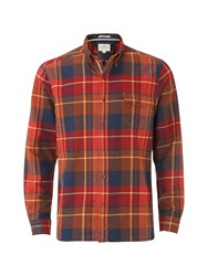 White Stuff Men's Billow Flannel Check Long Sleeve Shirt Multi Coloured Multi Coloured