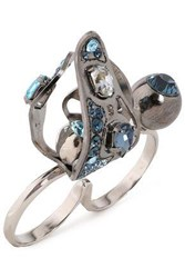 Lanvin Woman Rings Blue