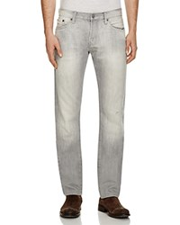 Jean Shop Mick Straight Fit Jeans In Grey