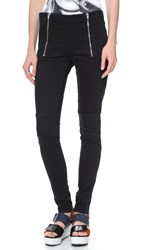 Surface To Air Ella Denim Leggings Jet Black