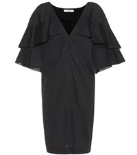 Dorothee Schumacher Playful Harmony Cotton Blend Dress Black