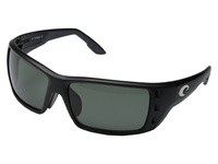 Costa Permit Global Fit Black Gray 580 Glass Lens Fashion Sunglasses