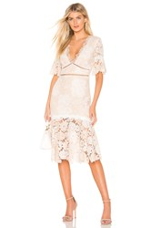 Saylor Maggy Dress Beige