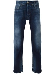 Diesel Gradient Detail Slim Fit Jeans Blue