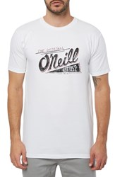 O'neill Pennant Graphic T Shirt White
