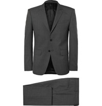 Givenchy Grey Slim Fit Wool Suit Gray