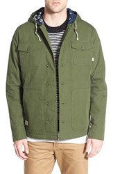 Men's Vans 'Lismore Deluxe' Water Resistant Hooded Jacket