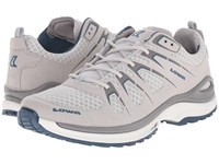 Lowa Innox Evo Light Grey Petrol Women's Shoes Beige