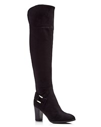 Marc Fisher Christyna Over The Knee High Heel Boots Compare At 149 Black