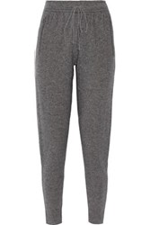 Line Keira Wool And Cashmere Blend Tapered Pants Anthracite