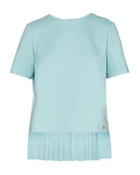 Ted Baker Naevaa Cbn Pleated Back Top Mint