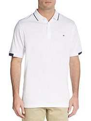 Callaway Otto Tonal Striped Polo Shirt Bright White