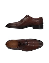 Etro Lace Up Shoes Brown