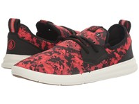 Volcom Draft Red Combo Men's Lace Up Casual Shoes