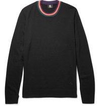 Paul Smith Ps By Merino Wool Sweater Black