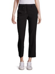 Helmut Lang Cropped Straight Leg Pants