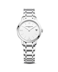 Baume And Mercier Classima 10335 Watch 31Mm White Silver