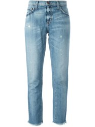 Current Elliott 'The Unrolled Fling' Jeans Blue