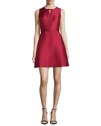 Erin Fetherston Eliza Fit And Flare Cocktail Dress Red