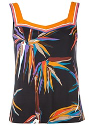 Emilio Pucci Bird Of Paradise Print Top