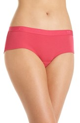 Joe's Jeans Amplify Logo Hipster Briefs Virtual Pink