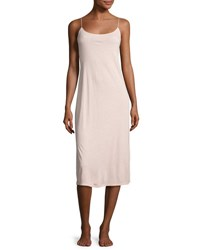 Natori Shangri La Jersey Nightgown Dusty Deco Pink
