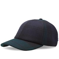 Larose Paris Moon Wool Baseball Cap Black