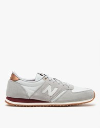 New Balance 420 In Silver Mink Arctic Fox