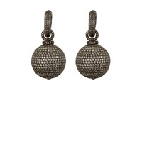 Munnu Hoops Ball Drop Earrings
