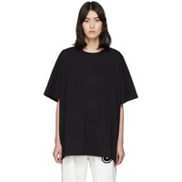 Maison Martin Margiela Mm6 Black Back Patch T Shirt