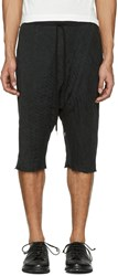 The Viridi Anne Black Baggy Shorts