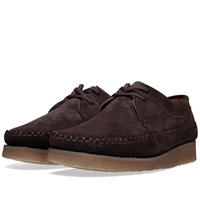 Padmore And Barnes M387 Willow Dark Brown Suede