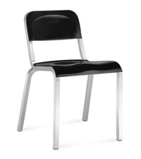 Emeco 1951 Stacking Chair Metal Black