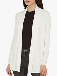 Ted Baker Leby Woven Detail Knitted Cardigan Ivory