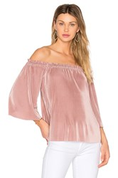 J.O.A. Off Shoulder Top Blush