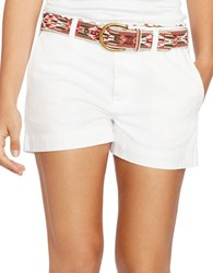 Polo Ralph Lauren Cotton Chino Shorts White
