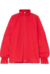 Vetements Embroidered Shell Jacket Large