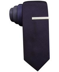 Alfani Red Exploded Panel Skinny Tie Only At Macy's Purple