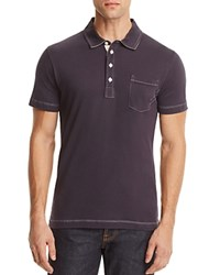 Billy Reid Pensacola Slim Fit Polo Shirt Navy