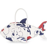 Thom Browne Shark Leather Tote Red White Blue