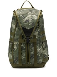 Nike Camouflage Print Backpack Green