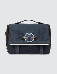 J.W.Anderson Jw Anderson Nylon Satchel Shoulder Bag Blue