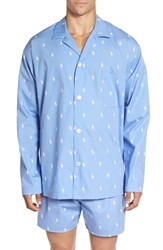 Polo Ralph Lauren Men's 'Polo Player' Embroidered Pajama Top