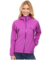 Outdoor Research Allout Hooded Jacket Ultraviolet Women's Coat Pink
