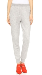 Alexander Wang Cotton Sweatpants Heather Grey