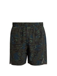 The Upside Welder Trainer 2.0 Camouflage Print Shorts