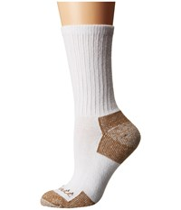 Carhartt Cotton Crew Work Socks 3 Pair Pack White Women's Crew Cut Socks Shoes