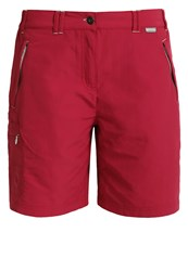 Regatta Chaska Sports Shorts Dark Cerise Dark Red