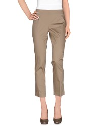 Flavio Castellani Trousers Casual Trousers Women Khaki