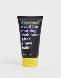 Manatomicals Avoid The Morning Rash Hour After Shave Balm Clear